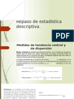 Repaso De estadística Descriptiva