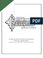manual castlevania juego de tablero