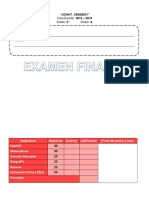 Examen FINAL 4°