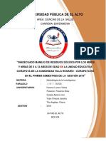 Metodologia de La Investigacion 05-09-2019