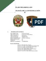 Silabo Metodologia de La Investigacion II-2019 Okok