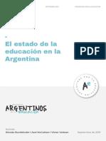 El Estado de la Educación en la Argentina