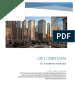 Ecosistemas modificados