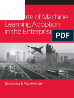State of Machine Learning Adoption