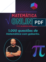 1000 questões Matemática