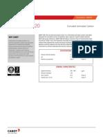 Datasheet Norit Cnr 120