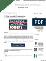 UDEMY - Aprende a Dominar jQuery ~ Libros del Programador.pdf