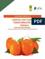 Guia Cosecha Postcosecha y Transformacion de La Naranja