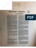 Danilevicz - Mercosul e o Direito