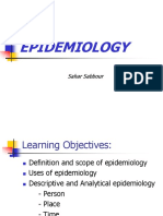 Epidemiology Introduction
