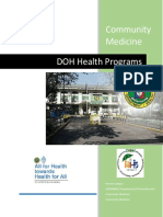 DOH Health Programs 2016 - 2017