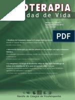 4 Fisioterapia y Calidad de Vida Volumen 15 n 3