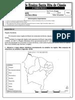 Av. de Geografia 2º TRI - GABARITO