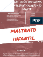 MALTRATO INFANTIL PPT + AUDIO