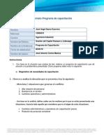 Formato Programa de Capacitación