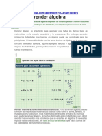 Apender Algebra