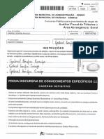 Prova Discursiva ISS São Luís - Gabriel Bonfim