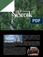 Nordik Ensamble - Semblanza