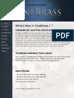 CINEBrass CORE User Manual