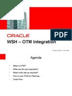 WSH OTM Integration