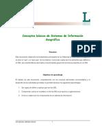 Conceptos Basicos de Sistemas de Informa Geografica