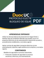Unidad 3 1 Protocolo Electrico Bloqueo