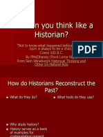 00001 How Can You Think Like an Historian