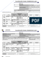 Planificación Diaria Agosto 2019