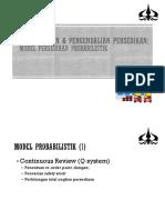 Minggu 9 - Persediaan Probabilistik