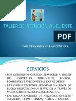 Taller Servicio Al Clientesecap