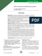Determinación de necesidades de tratamiento periodontal de mujeres gestantes