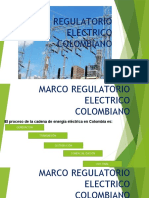 Marco Regulatorio Electrico Colombiano