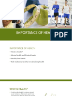 Importance of Health_Abdullah(1)