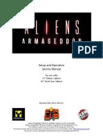 Aliens Armageddon Arcade Manual