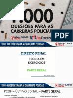 1000 Questões - Penal Parte Geral - Aula 02-03-05-19 - DOUGLAS VARGAS - 20h
