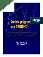 controlprogramacionArduino