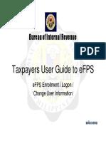 BIR Job Aid TP Guide - Enrollment,Login,Change User Info