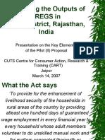 Rajasthan Nrega - Cuts