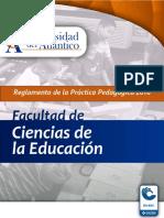 Reglamento de La Práctica Pedagógica - Facultad de Ciencias de La Educación
