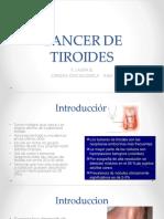 Clase 9 - Cáncer de Tiroides