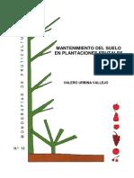 Mantenimiento Del Suelo en Plantaciones Frutales