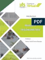 TRIGONOMETRIA MODULO 3