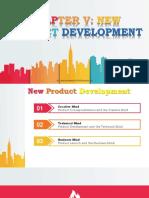 Chapter v New Product Development