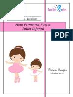 Meus Primeiros Passos Ballet Infantil (Professor)