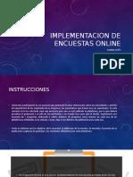 Implementacion de Encuestas Online