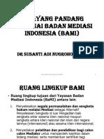 Selayang Pandang Badan Mediasi Indonesia