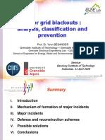 (Major Grid Blackouts) Materi Kuliah Tamu 11 April 2018