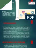 Ppt de Estadistica Sobre Las Redes Sociales- Grupo 5