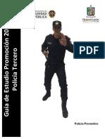Guia de Estudio Policia Tercero (Fc Pi)