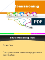 BBU Comissioning